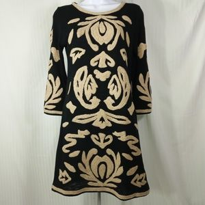 YOUNG THREAD DRESS TUNIC UNIQUE EMBOSSED DESIGN SM
